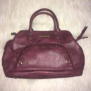 Steve Madden Maroon Satchel Bag